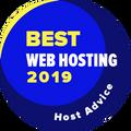 Givet til firmaer på Top-10-listen over den bedste webhostingkategori.